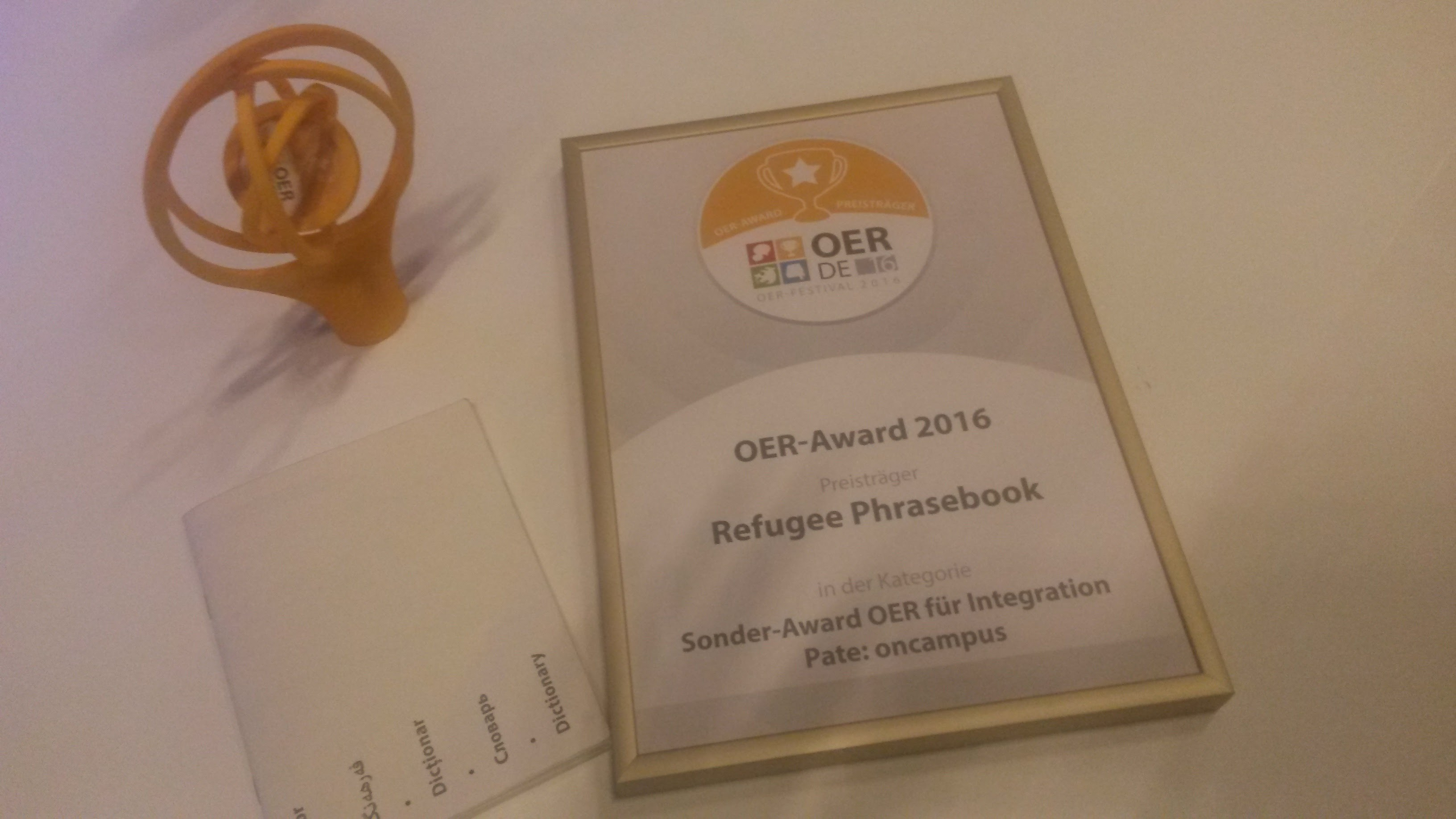 OER Award